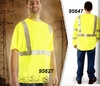95647-LONG SLEEVE HI-VIS HENLEY SHIRT
