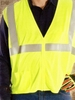 95697 WOVEN REFLECTIVE SAFETY VESTS