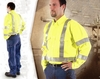 95810 HIGH VISIBILITY BUTTON DOWN WORK SHIRT