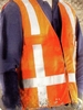 95997 STANDARD YELLOW OR ORANGE REFLECTIVE SAFETY VEST