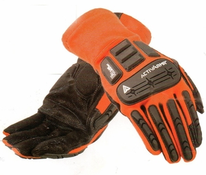 "97-200   ""ACTIVARMR&#153"" FLAME  & IMPACT RESISTANT  PROTECTIVE GLOVES"