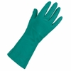 991603 LINED 15mil GREEN NITRILE CHEMICAL GLOVES