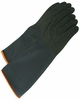 9918H HEAVYWEIGHT BLACK BUTYL NATURAL RUBBER 18 INCH CHEMICAL RESISTANT GLOVES
