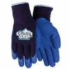 A311 CHILLY GRIP&#174 HEAVYWEIGHT THERMAL KNIT LINED HEAVY DUTY LATEX RUBBER GRIPPING WORK GLOVES