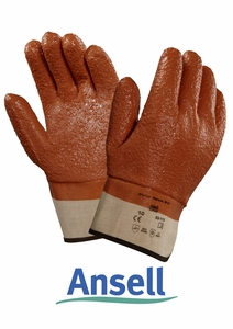 ANSELL WINTER MONKEY GRIP&#174 ROUGH FINISH PVC GLOVES<br>23-173