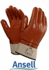 23-193 ANSELL WINTER MONKEY GRIP&#174 SMOOTH FINISH PVC GLOVES