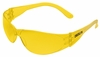 CL114 CHECKLITE&#174 AMBER LENS SAFETY GLASSES
