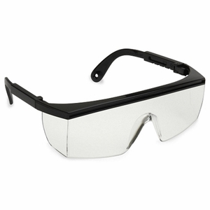 EAB10S CITATION CLEAR LENS SAFETY GLASSES W/ADJUSTABLE TEMPLES<br>CLOSEOUT PRICE $1.49