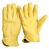 G311T UNLINED GRAIN DEERSKIN GLOVES w/MINOR IMPERFECTIONS