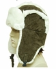HG-532 FAUX FUR SUEDE ALASKAN TRAPPER HAT<BR>CLOSEOUT PRICE $14.99
