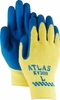 "KV300 ATLAS NATURAL RUBBER PALM GLOVE W/SEAMLESS KEVLAR&#174 KNITTED LINER<font color=""000000"">"