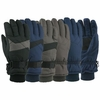 63104 MENS TASLON THINSULATE&#153 LINED SKI GLOVES