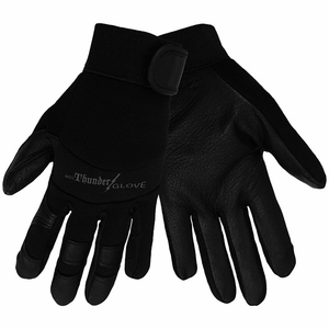 SG7001 THUNDER GLOVE&#174 PREMIUM BLACK DEERSKIN MECHANICS GLOVES