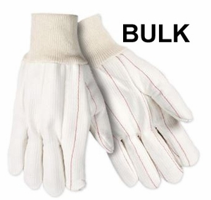 UPC193-BULK EXTRA HEAVY DUTY COTTON/POLYESTER CANVAS TWILL GLOVES