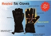 W-WINGLV-100 HEATED WINTER SKI GLOVES BATTERY POWERED ONE SIZE FITS MOST<br>CLOSEOUT PRICE $18.99