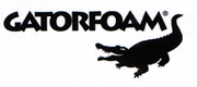 "48"" x 96"" x 1"" Black Gatorfoam Gator Board - 6 Pack"