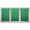 Weather Resistant Outdoor Colored Cabinets with Lights