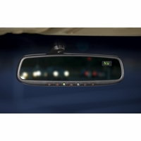 2014 2015 2016 2017 2018 Mazda 3 Auto-Dimming Rearview Mirror with Compass and Homelink 00008CL46