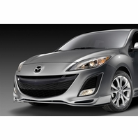 Genuine 2010-2011 Mazda 3 Front Air Dam Painted (S-model only)