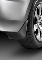 Genuine 2012-2013 Mazda 3 Rear Splash Guards (4 door I models with single exhaust only) Special Price