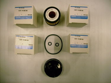 Genuine (Cartridge) Mazda Oil Filter New Lower Price Pack of 5 with  Oil Filter Wrench