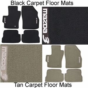 Genuine Mazda 3 Carpet Floor Mats Set of 4