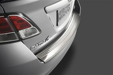 Genuine Mazda 6 Stainless Steel Rear Bumper Guard  Special Price