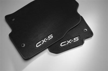 Genuine Mazda CX-5 Carpet Floor Mats in Charcoal Black(set of 4)  Special Price