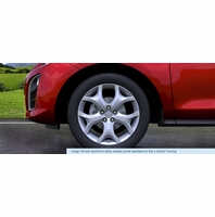 Mazda CX-7 Genuine Brake and Wheel Parts 2010 2011 2012