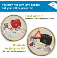 Genuine Mazda First Aid Kit and Roadside Assistance Kit