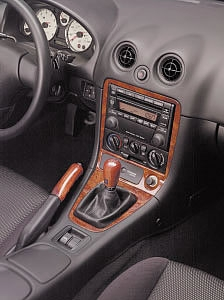 Genuine Mazda Miata 2 Piece Wood Dash Kit