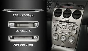 Genuine Mazda Miata 6 Disk CD Changer