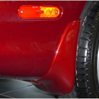 Genuine Mazda Miata Rear Mud Guards Painted (2001-2005)