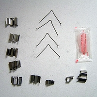 Genuine Mazda Miata Value Pads Clips Only (2001-2005)