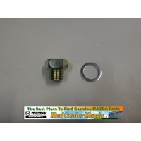 Genuine Mazda Oil Pan Plug with Washer