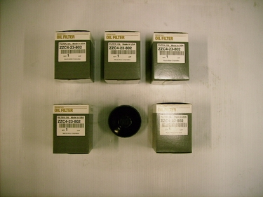 Genuine Mazda Tribute V6 (2010-2011) Oil Filter 5-Pack with Oil Filter Wrench
