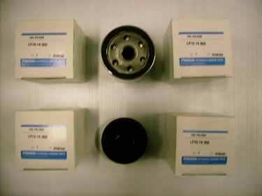 Genuine (Spin-on) Mazda Oil Filter Pack of 5 With a Oil Filter Wrench New Low Price