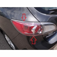 Mazda 3 Hatchback Driver Side Tail Lamp (bulb type-non LED)