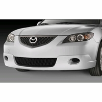 Mazda 3 Painted Front Air Dam Without Fog Lamp(i-model)
