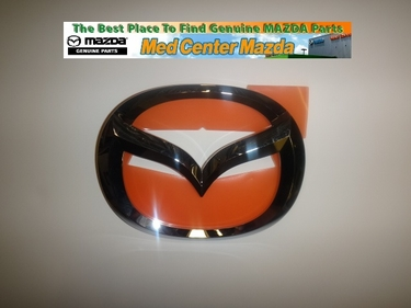 Mazda 3 Rear Deck Lid Emblem (4-door sedan model)