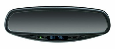 Mazda 5 Compass Mirror With Rain Sensing Wipers (2008)