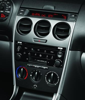 Mazda 6 In-Dash 6-Disc CD/MP3 Changer with Bose