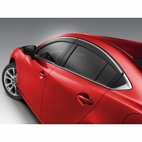 Mazda 6 Side Window Visors set of 4 GHK1V3700