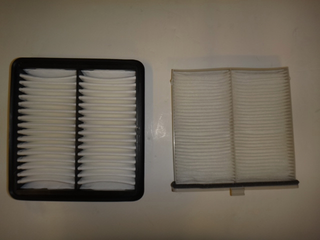 mazda cabin filter and air filter combo pack. Black Bedroom Furniture Sets. Home Design Ideas
