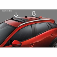 Mazda CX-3 Cross Bars Only 00008LS01