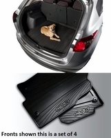 Mazda CX-5 All Weather Floor Mats (4) and a Rear Cargo Tray