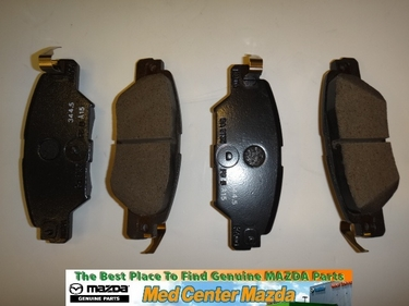 Mazda CX-5 Rear Brake Pads 2016 2017 2018 2019 KAY02648Z