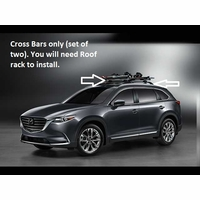 2016 2017 2018 2019 Mazda CX-9 Cross Bars (roof Rack Required not included) 00008LN11