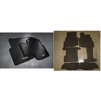 Mazda CX-9 Front and Rear All Weather Floor Mats (set of 8)