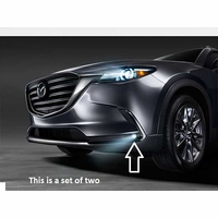 2016 2017 2018 2019 Mazda CX-9 LED Fog Lamp Kit with switch w/o Auto Headlights